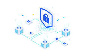 Security on Blockchain Isometric 1 - FV - 29element