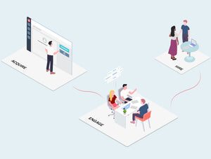 Cloud Computing Company Isometric Illustration Part 4 - 29element