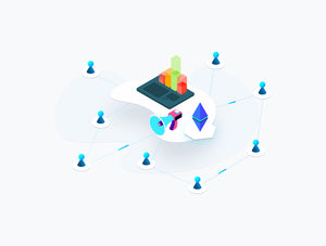 Blockchain Isometric Graphic v.5 - 29element