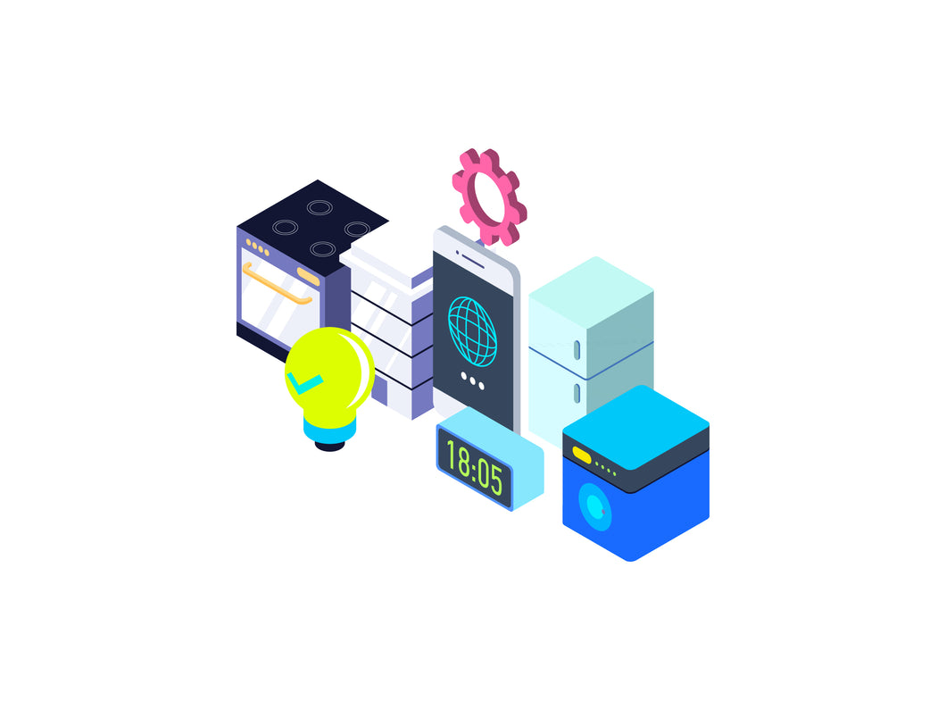 Internet of Things Isometric Graphic - 29element