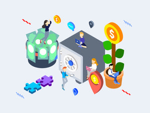 E-Commercial Isometric - 29element