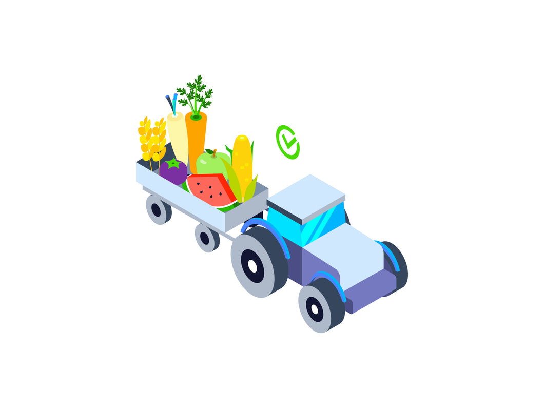Agricultural Isometric Graphic - 29element