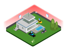 Smarthome Concept Isometric v.4 - 29element