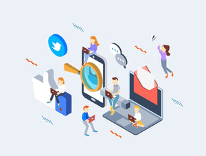 Social Media Isometric Concepts - 29element