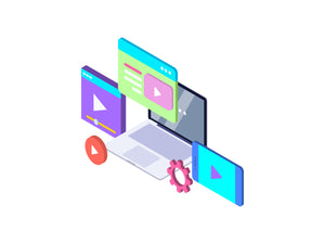 Video Tutorials Isometric Graphic - 29element