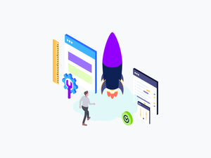 Web Development Isometric Graphic - 29element