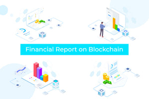 Financial Report on Blockchain Isometric 2 - FV - 29element