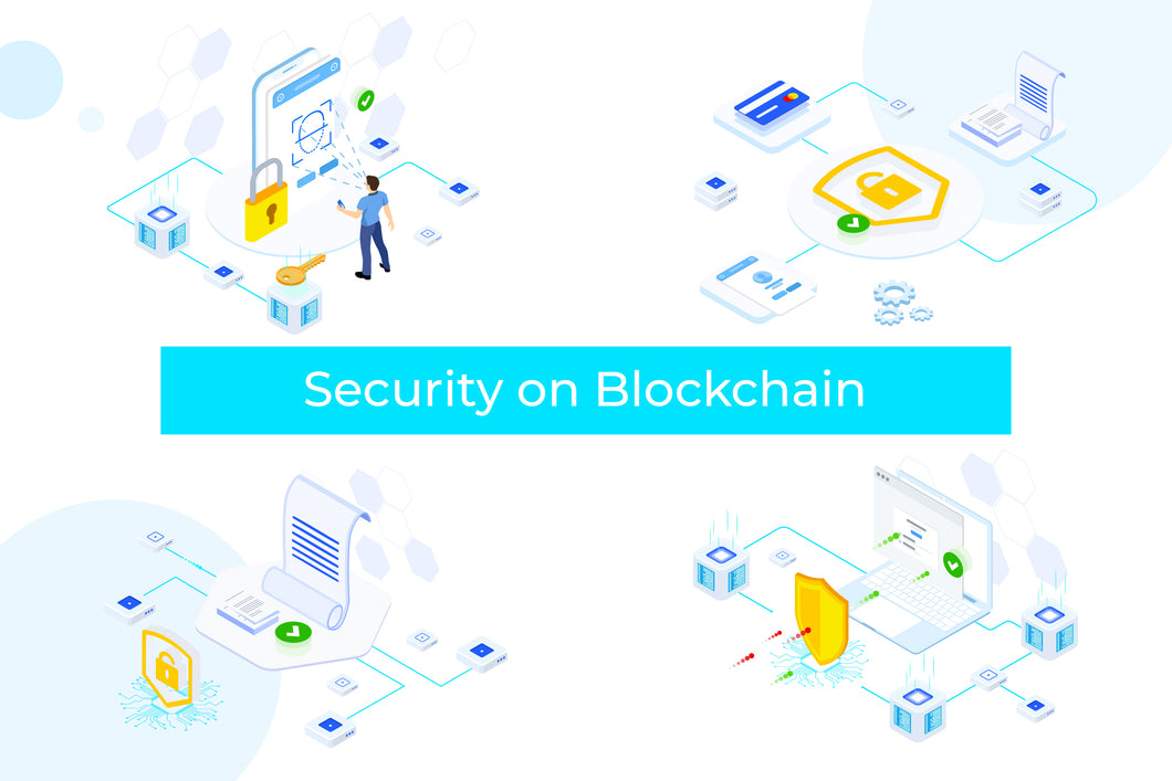 Security on Blockchain Isometric 2 - FV - 29element