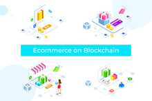 E-commerce on Blockchain Isometric 1 - FV