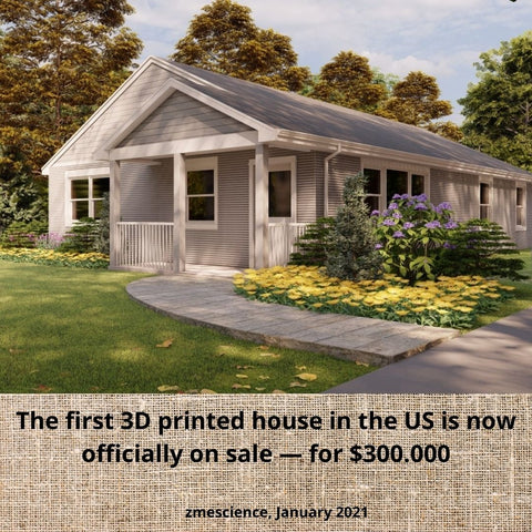 first 3d printed house in united states