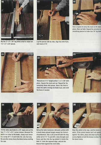woodworking plans for furniture