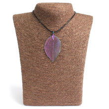 Load image into Gallery viewer, Necklace - Bravery Leaf - Multicoloured