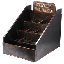 Load image into Gallery viewer, Exoscrub Soap Display Stand - Mango Wood