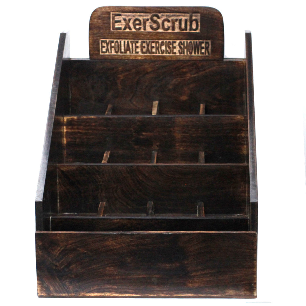 Exoscrub Soap Display Stand - Mango Wood