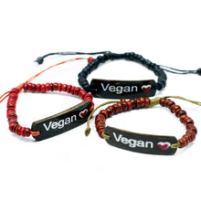 Load image into Gallery viewer, 6x Coco Slogan Bracelets - Vegan