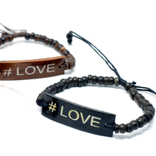 Load image into Gallery viewer, 6x Coco Slogan Bracelets - #Love