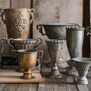 Classical Retro  Iron Goblet