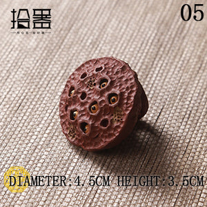 Creative Clay Pottery Tea Ceremony Decoration Accessory