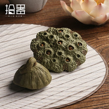 Load image into Gallery viewer, Creative Clay Pottery Tea Ceremony Decoration Accessory