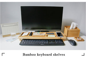 Bamboo Office/Home Desktop Organizer - Eco-friendly