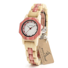 Load image into Gallery viewer, Ladies Quartz Watch Full Bamboo Christmas Gift