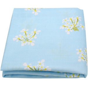 Baby Swaddle Blanket Cotton Bamboo Fabric Super Soft