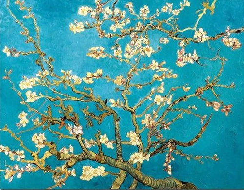 Artwork Print  Almond Blossoms by Vincent Van Gogh