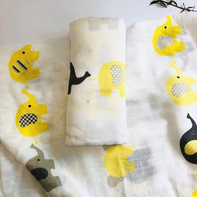 Bamboo Cotton Baby Swaddle Blanket