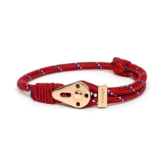 Yosemite / Red Patterned / Rose Gold - Yosemite - Inspired by Rock-climbing - Topologie