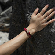 Yosemite / Red Patterned / Raw Brass - Yosemite - Inspired by Rock-climbing - Topologie