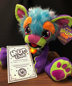 "MUB The Monster Under The Bed 16"" Plush Toy Calms Bedtime Fears"