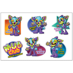 MUB Monster Under the Bed Bravery Reward Sticker Sheet
