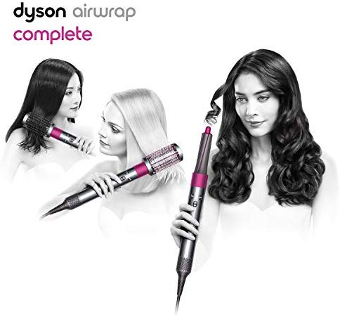 Dyson Airwrap Complete Styler for Multiple Hair Types and Styles, Fuchsia - Jazzie Dealz