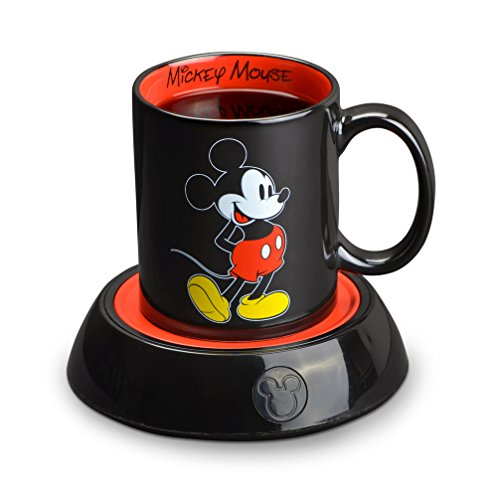 Disney Mickey Mouse Mug and Mug Warmer Minnie Mouse Mug