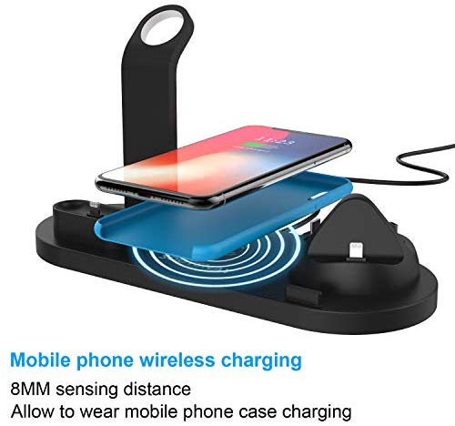 Wireless Charging Dock for Apple Watch Air pods, Charging Station for Multiple Devices - Jazzie Dealz