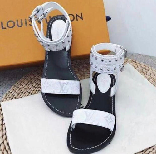 Gorgeous  LV Sandals - JazzieDealz.Com