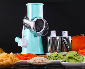 Manual Vegetable Food Shredder with Strong Suction Base - Jazzie Dealz