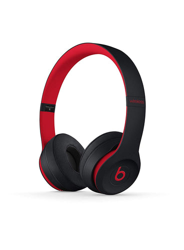 Beats Solo3 Wireless On-Ear Headphones - The Beats Decade Collection - Defiant Black-Red - Jazzie Dealz