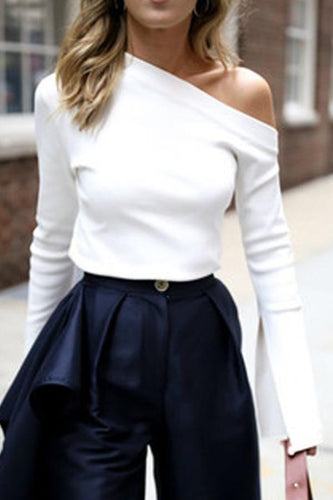 Off-The-Shoulder T-Shirt