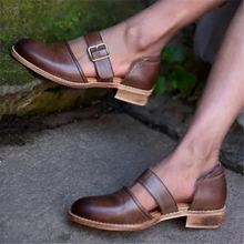 Load image into Gallery viewer, Women's buckle point flat shoes