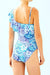 One-shoulder Ruffle One-Piece Swimsuit