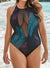 VENICE MESH HIGH NECK ONE PIECE SWIMSUIT