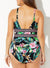 POLYNESIA PLUNGE ONE PIECE SWIMSUIT