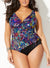 LONGITUDE BOMBAY SURPLICE ONE PIECE SWIMSUIT