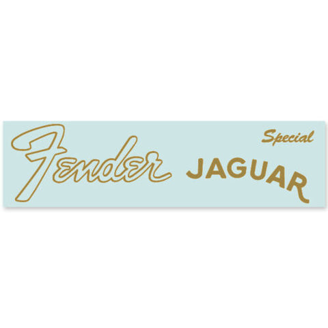 Fender® Jaguar® Special® Waterslide Headstock Decal