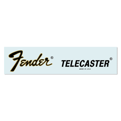 Fender® 1979 Telecaster® USA Waterslide Headstock Decal GOLD FOIL