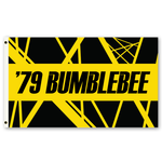 Eddie VH2 Bumblebee Striped Flag 3 ft x 5 ft
