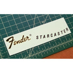 Fender® Starcaster® Waterslide Headstock Decal GOLD FOIL