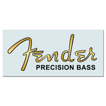 Fen Precision® Bass 1951-61 Waterslide Headstock Decal