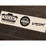 Vox® Mk III 50th Anniversary Limited Edition Waterslide Decal Set